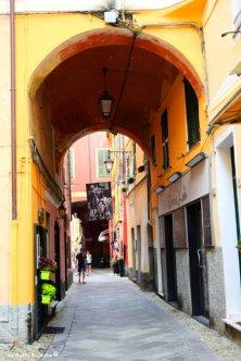 main street of Laigueglia