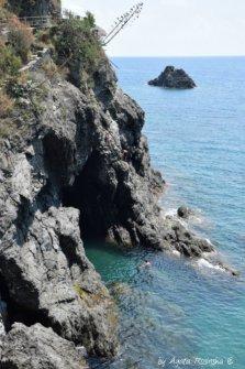 rocs of Monterosso Levante Ligure