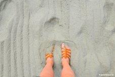 sand in Alassio ponente ligure