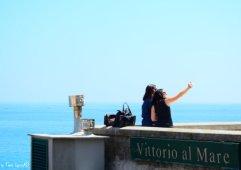 selfie in Boccadasse