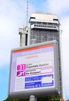 timetable bus Boccadasse