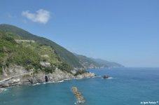 coast of Cinque Terre