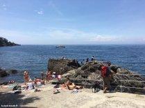 the first beach Punta Chiappa