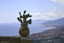 view on western coast of Liguria