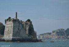 tower rests and Portovenere