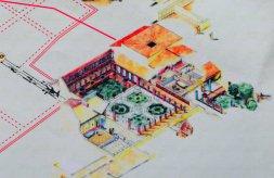 how casa degli affreschi looked like