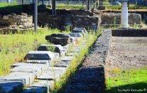rests of ancient Luni Liguria