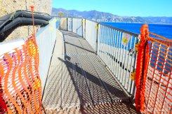 temporary footbridge Paraggi