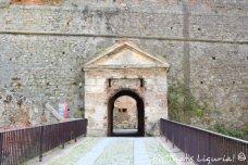 fortress entrance Savona
