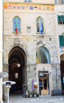 historical centre entrance Savona