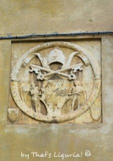 pope symbol Savona