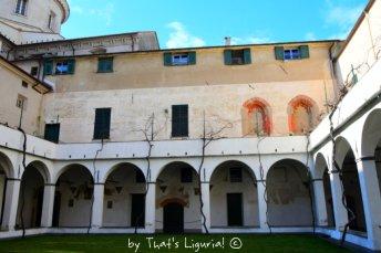 visiting cloister Savona