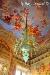 Villa Durazzo ceiling details