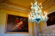 music room Villa Durazzo