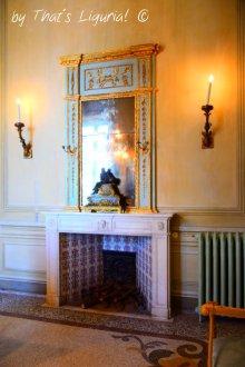 salotto del camino Villa Durazzo