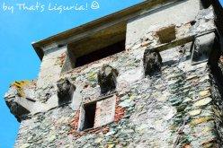 Saracen Tower details Arenzano