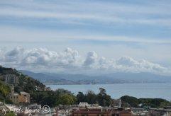 view from panoramic teraca Arenzano