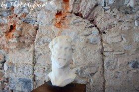 ancient sculpture San Fruttuoso