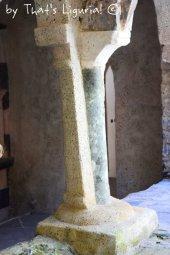 original column San Fruttuoso