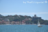 view on Lerici from San Terenzo