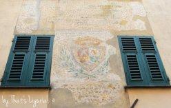 Columbus House fasade details Cogoleto
