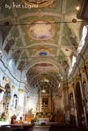 interiors of Oratorio di San Giovanni Battista Triora