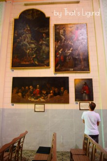 paintings of Collegiata d.N.S.A. Triora