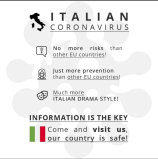 Italy is safe for tourists