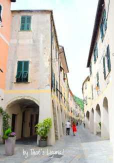 main street in Zuccarello
