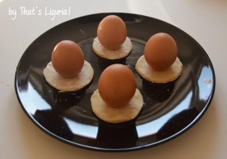 cavagnatti with eggs