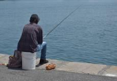 fishing in Oneglia