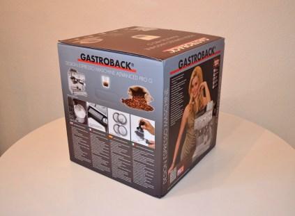 Gastroback Pro G/Breville Barista Express - Box Rear