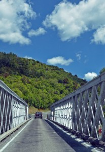 One Lane Bridge, South Island, New Zealand