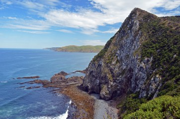 Beautifully rugged coastline