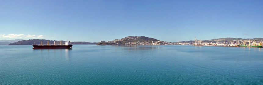 Ultra-wide Panorama from the Picton Ferry