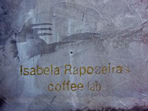 Isabela Raposeira's COFFEE LAB, Sao Paulo (1/3)