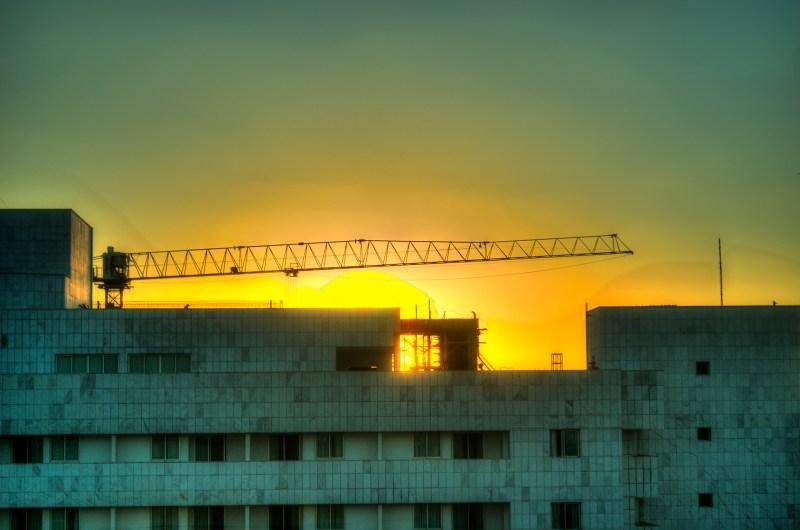 sunset in Brasilia