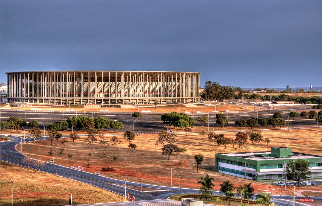 The Brazilian National Stadium