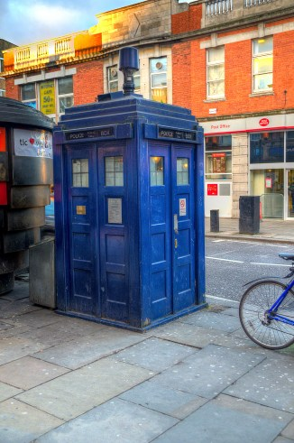 Doctor Who, Tardis, Police Box