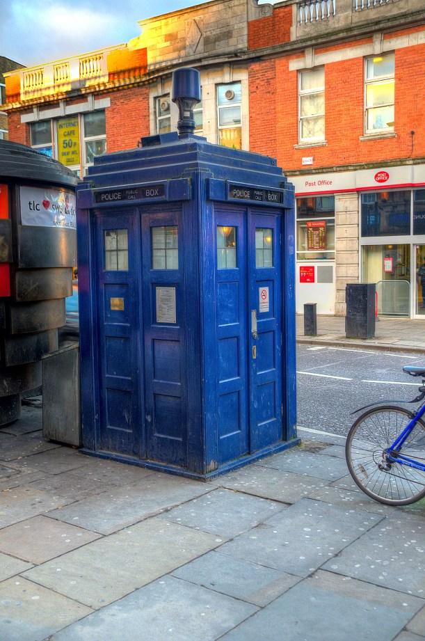 Doctor Who, Tardis, Police Box