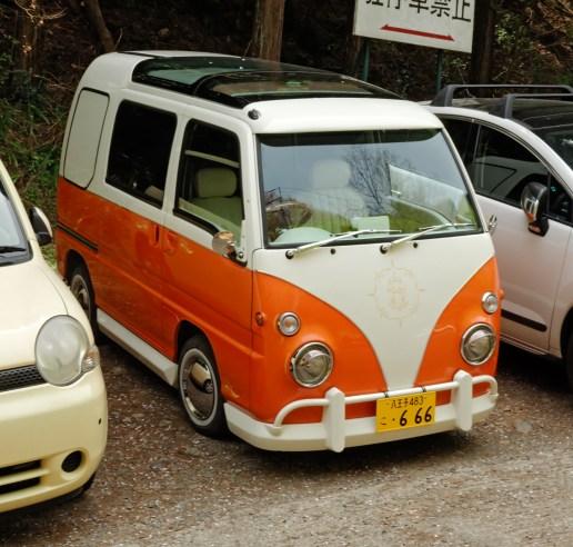Japanese car that looks like Classic VW Van