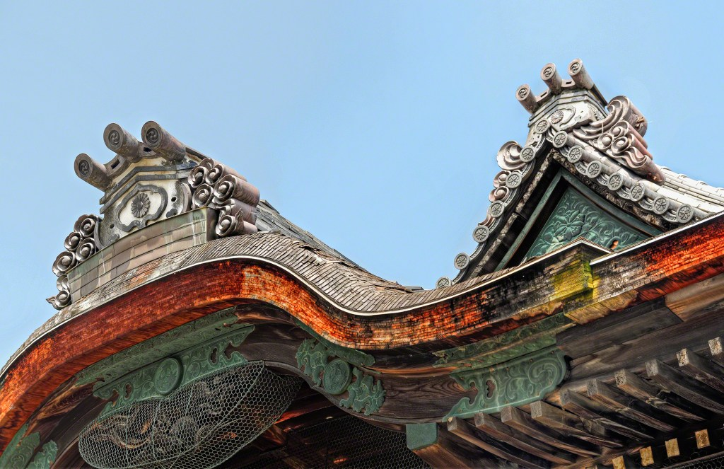 Kyoto, Wooden Roof Beam