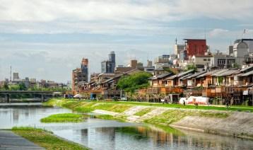 Japan river, Kyoto