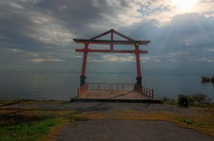 Lake Biwa Torii