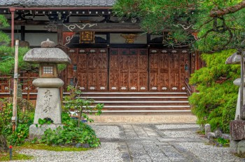 Temple Doors, Otsu, Japan