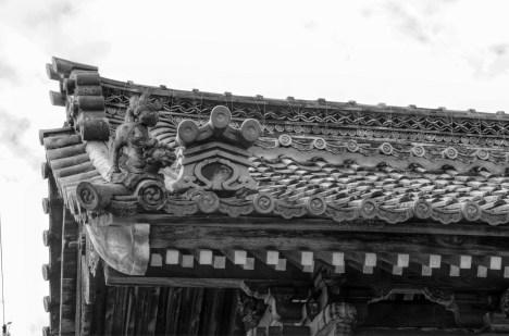 Temple Roof, Otsu, Japan