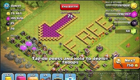 Top 10 Funny Clash of clans Base no 2