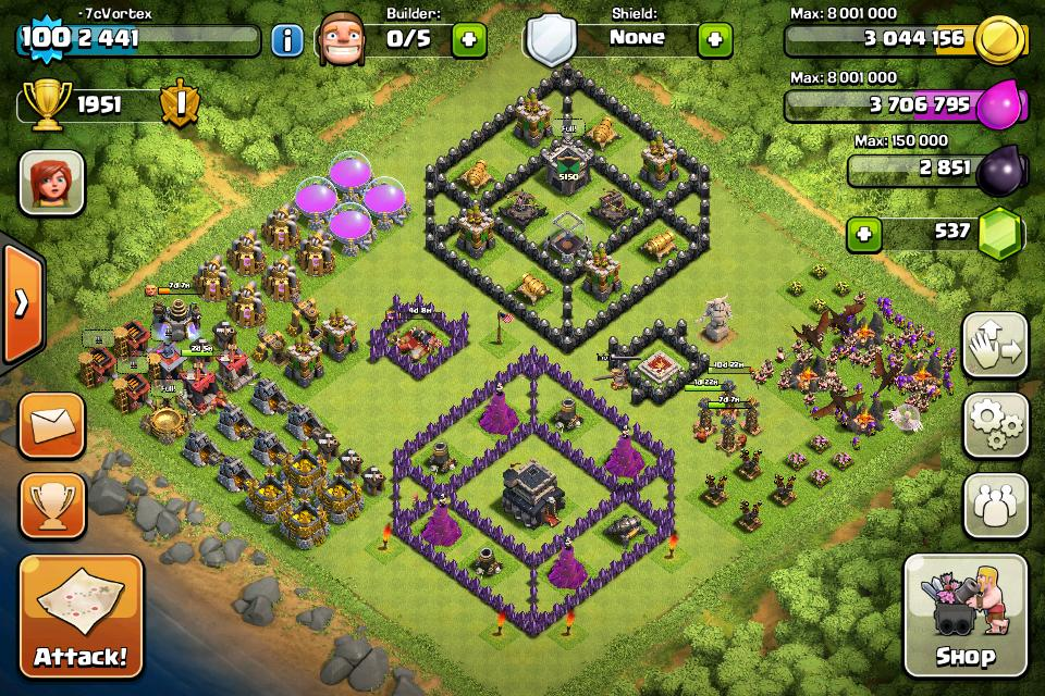 Top 10 Funny Clash of clans Base no 5