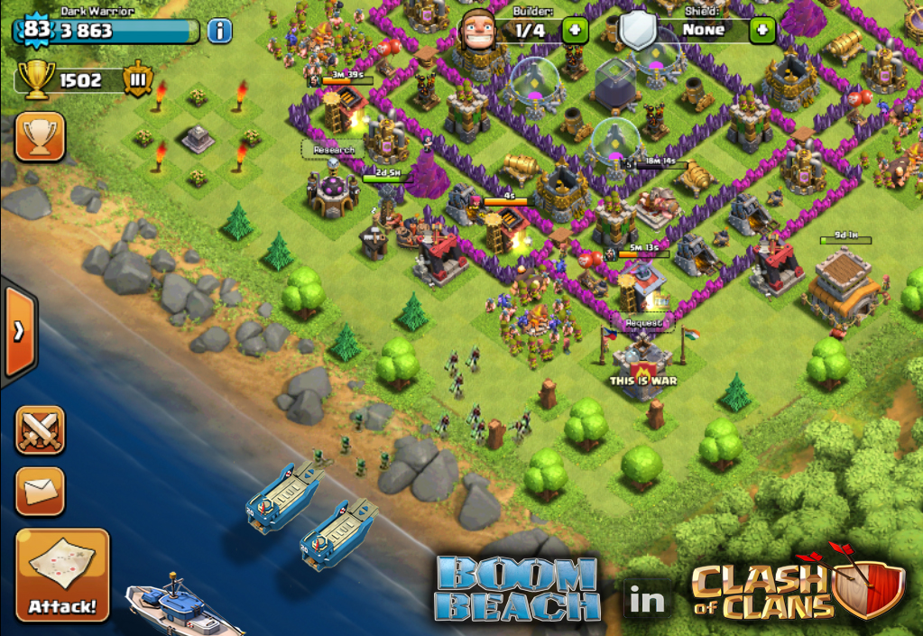 Boom Beach in Clash of Clans - Thats My Top 10 -2