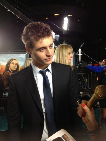 Max Irons Posh, Host Movie Premiere, Max Irons